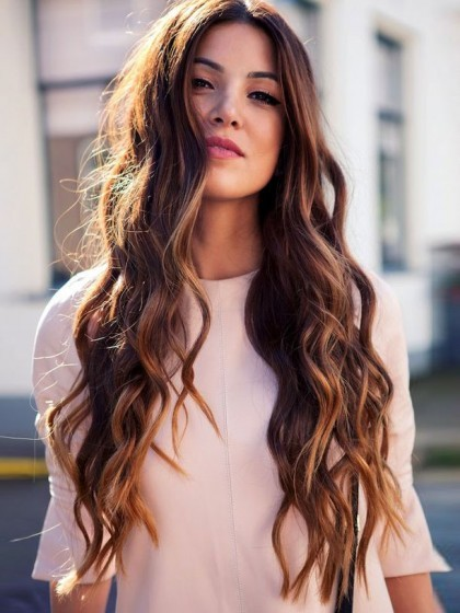 Comfortable Lace Front Remy Human Hair Wavy Wig