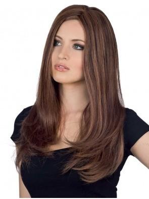 Elegant Remy Human Hair Straight Capless Wig