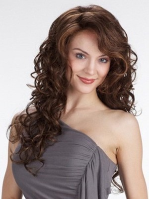 Impressive Synthetic Wavy Lace Front Wig