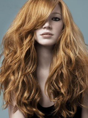 Marvelous Wavy Remy Human Hair Capless Wig