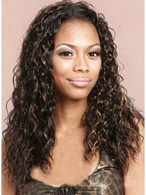 Curly New Style Lace Front Synthetic Wig