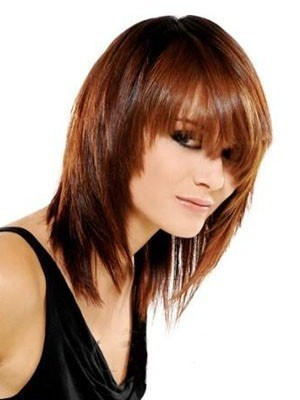 Medium Straight Capless Human Hair Wig