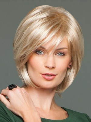Synthetic Straight Capless Wig