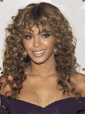 European Style Wavy African American Wig