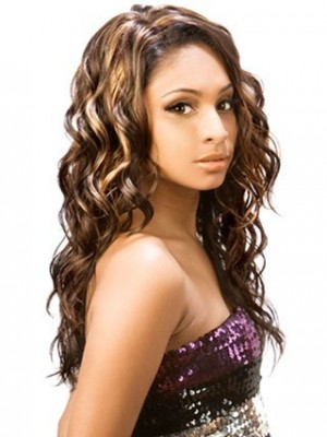 Gypsy Shag Loose Wave Synthetic African American Wig