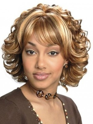 Stylish Sophisticated Synthetic Capless African American Wig