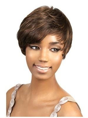 Clean Short Boy Cut African American Wig