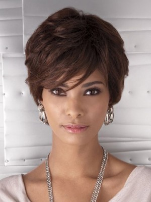 Bob Synthetic Capless African American Wig