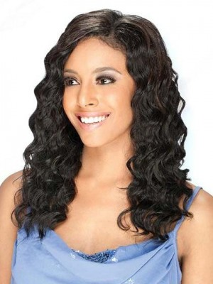 Wavy Lace Front African American Wig Real Human Hair African American Wig