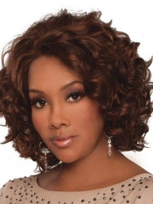 Chante Lace Front Wavy Human Hair African American Wig