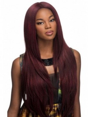 Lace Front Straight African American Wig