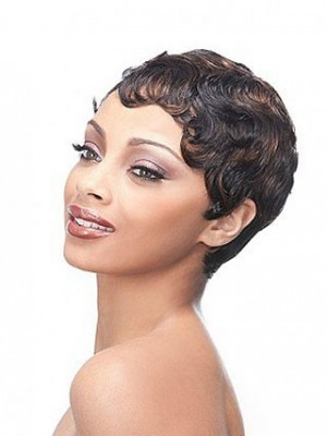 Full Lace Heat Friendly Synthetic African American Wig
