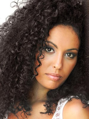 Curly Synthetic Full Lace African American Wig