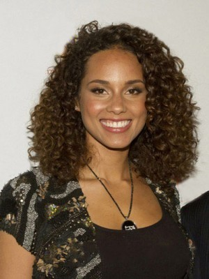Curly Brown African Lace African American Wig For Women