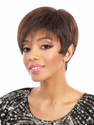 Synthetic Straight Stunning Capless Wig
