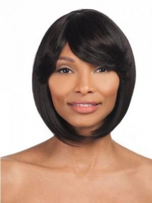 Comfortable Synthetic Straight Medium Capless Wig