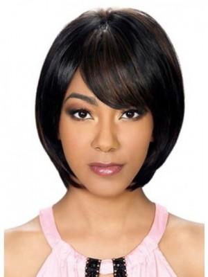 Synthetic Stunning Medium Straight Capless Wig