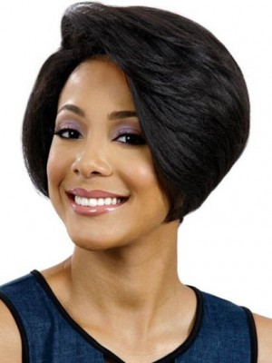 Seductive Capless Straight Remy Human Hair Wig