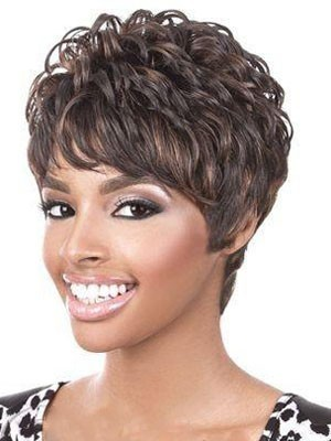 Good Looking Human Hair Full Lace Wavy Wig