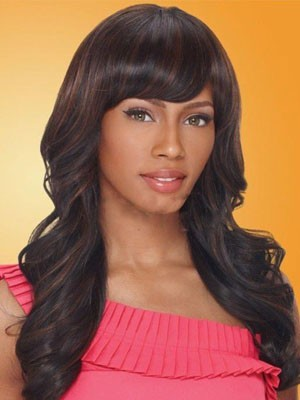 Charming Synthetic Wavy Capless Wig