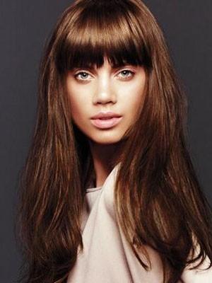 Charming Remy Human Hair Wavy Capless Wig