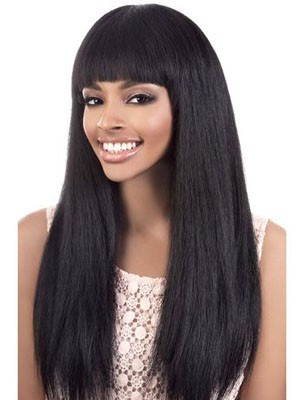 Straight Human Hair Wonderful Capless Wig
