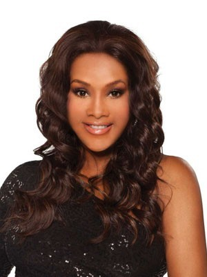 Comfortable Synthetic Wavy Lace Front Wig