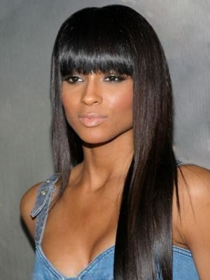 Popular Synthetic Long Straight Capless Wig