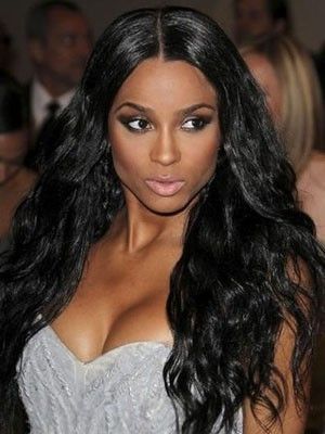 Good Looking Synthetic Lace Front Wavy Wig