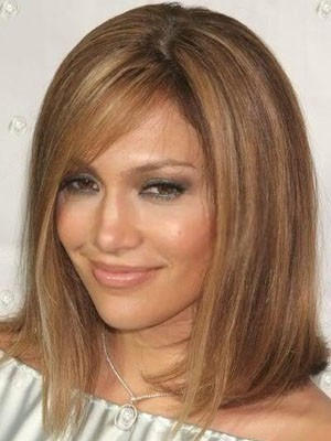Good Looking Human Hair Straight Lace Front Wig