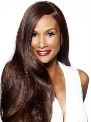 Comfortable Synthetic Lace Front Straight Wig