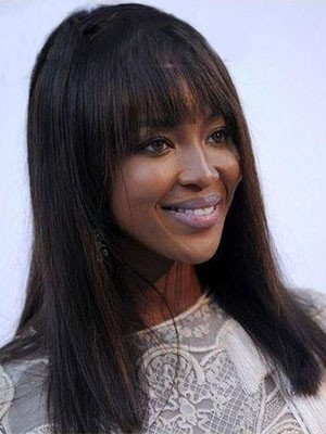 Awesome Capless Straight Human Hair Wig