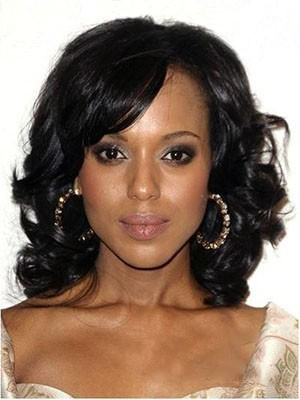 Classic Synthetic Wavy Lace Front Wig