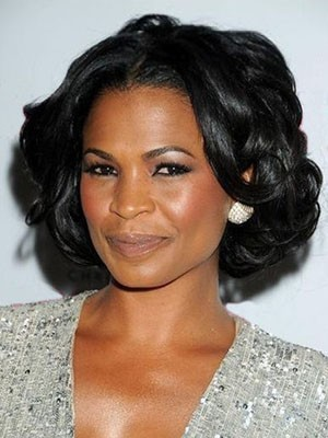 Natural Synthetic Wavy Lace Front Wig
