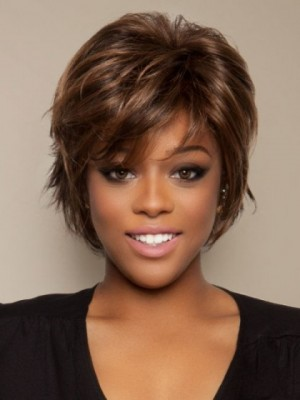 Good Looking Synthetic Straight Capless Wig