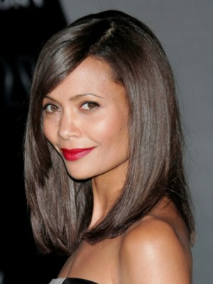 Glamorous Synthetic Straight Lace Front Wig
