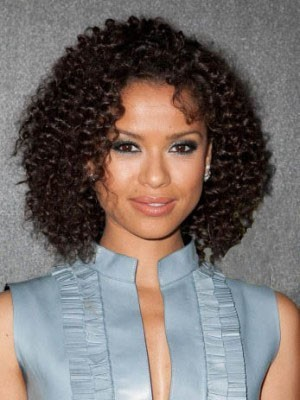 Synthetic Lace Front Curly Wig