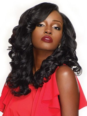 Gorgeous Synthetic Wavy Lace Front Wig