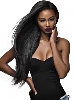 Attractive Synthetic Straight Lace Front Wig