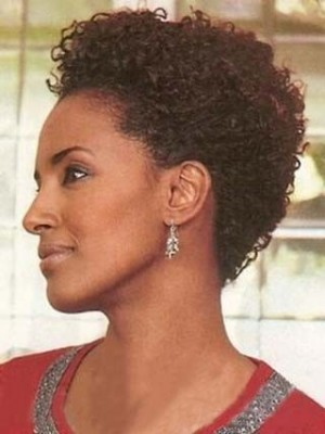 Popular Short Curly 100% Remy Human Hair