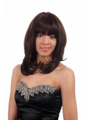 Chic Capless Straight Human Hair Wig