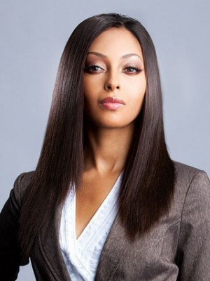 Stylish Straight Lace Front Synthetic Wig