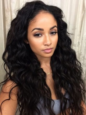 Romantic Wavy Lace Front Synthetic Wig