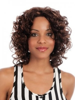 Body Style Synthetic Lace Front African American Wig