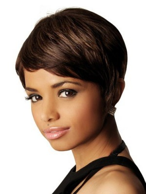 Stunning Straight Lace Front Synthetic Wig