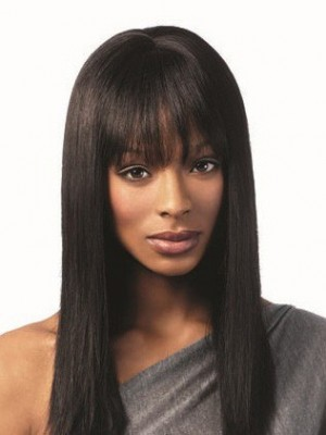 Charming Human Hair Straight Capless Wig
