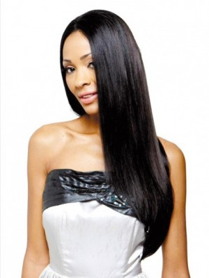 Good Looking Straight Lace Front Synthetic Wig