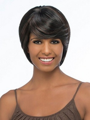 Attractive Straight Capless Synthetic Wig