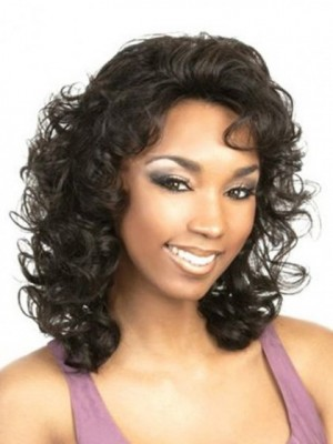 Admirable Wavy Lace Front Synthetic Wig