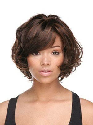 New Style Wavy Human Hair Capless Wig